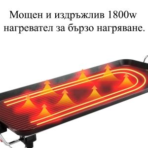 Electrical grill pan 1800w
